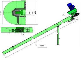 Скребковый транспортер для навозоудаления транспортер т5 подушки двигателя